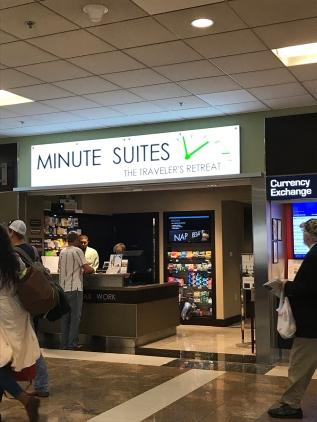 Minute Suites in Atlanta Hartsfield-Jackson Airport.
