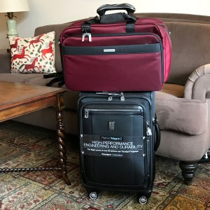 Picking the best bag for Europe travel. Spinner and tote.