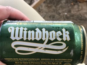Windhoek Lager beer from Namibia