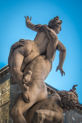 Walks of Florence with LivTaly Tours - Rape of the Sabine
