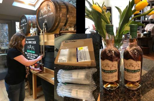 Bottle your own Celtic Whiskey Bar and Larder, Killarney