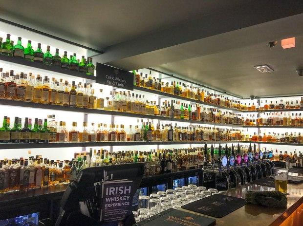 The Celtic Whiskey Bar in Killarney