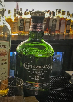 The smokiness of the Connemara 12 year old was wonderful.