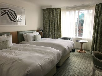 Double room, Conrad Hotel in Dublin