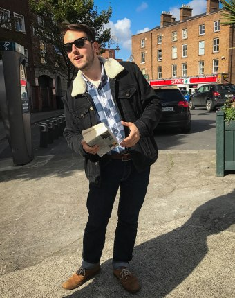 Our walking tour from the Joyce Center in Dublin -- Introducing Joyce's Dublin