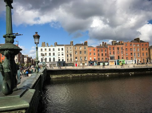 River Liffey in Dublin