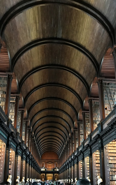 The Long Room of the Old Library, Trinity College Dublin. Photograph, Ann Fisher.