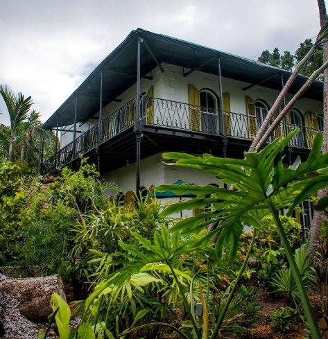 The Hemingway House in Key West.