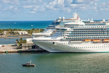 Port Everglades Cruise Terminal in Ft. Lauderdale