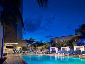 Pool at the Sonesta Ft. Lauderdale