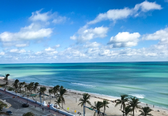 View from the Sonesta Ft Lauderdale