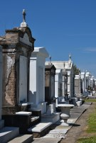 One of the many cemeteries in New Orleans.