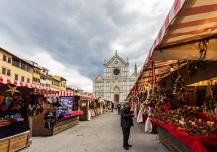 Christmas market, Santa Maria Novella