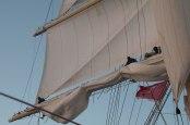 Furling the Main Sail Royal Clipper