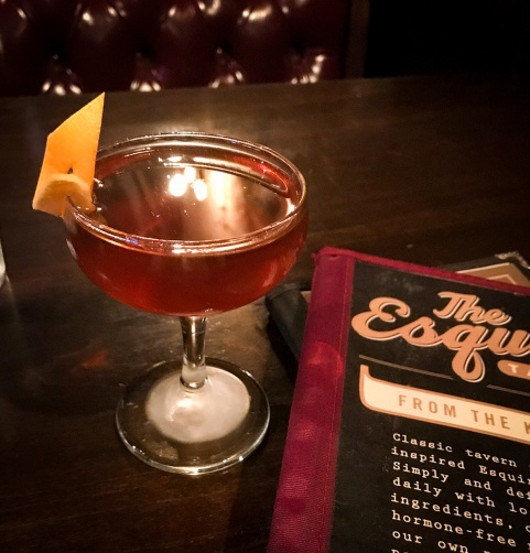 Esquire Tavern craft cocktail Quiet Little Voices