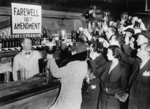 On December 5, 1933, Americans everywhere celebrated the end of Prohibition and the repeal of the 18th Amendment.