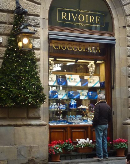 Rivoire Christmas window