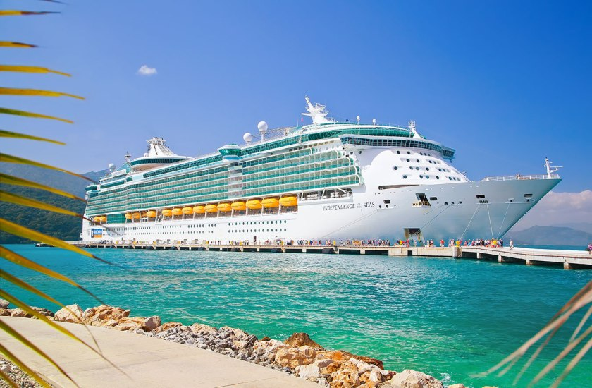 Royal Caribbean Independence of the Seas was struck by highly contagious Norovirus December 2017