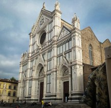 Facade of Santa Maria Novella.