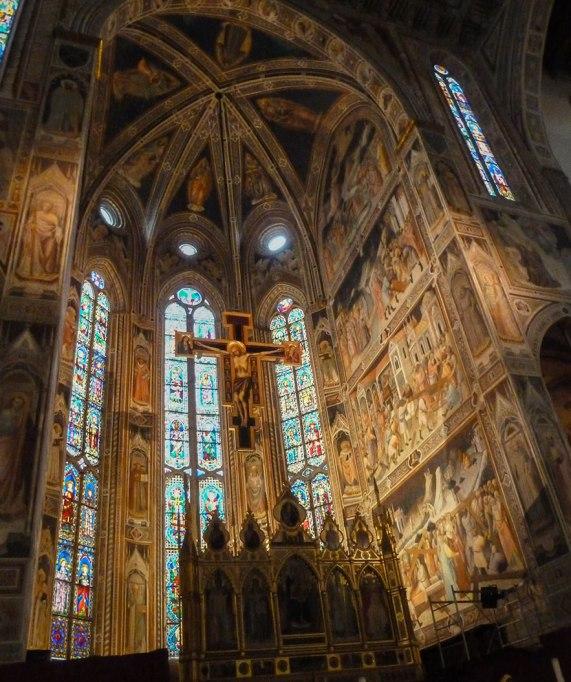 Tornabuoni Chapel at Santa Maria Novella