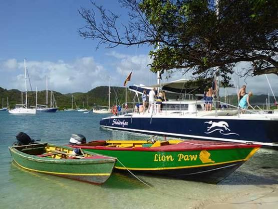 Shadowfax catamaran Grenada