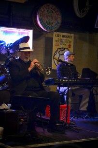 A little jazz on Bourbon Street.