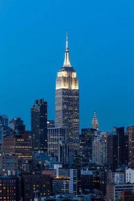 Empire State Building and the Chrysler Building