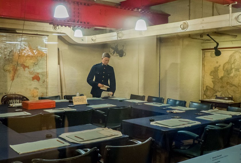 War Cabinet Room in the Churchill War Rooms