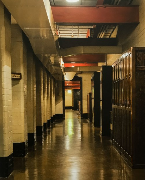 Main Corridor in the War Rooms in London