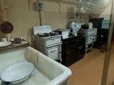 The Churchill Kitchen in the underground War Rooms