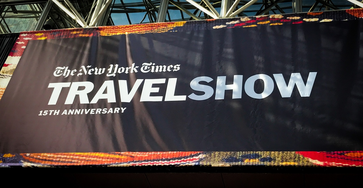 News and Tips from the 2018 New York Times Travel Show, Part One
