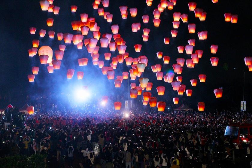 Ping Xi Sky Lantern Festival