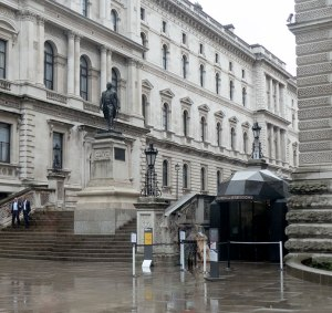 Entrance to the Churchill War Rooms, Clive Steps, London