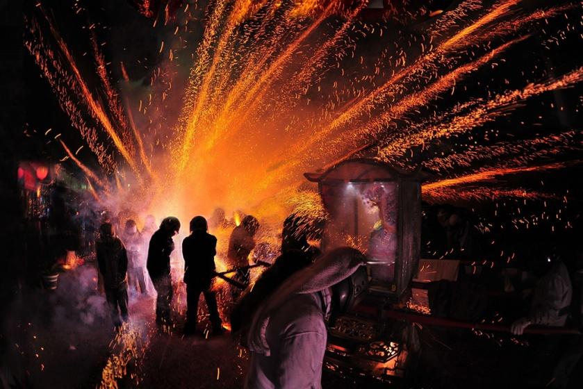 Tainan Yanshuei (Yanshui) Beehive Fireworks Festival