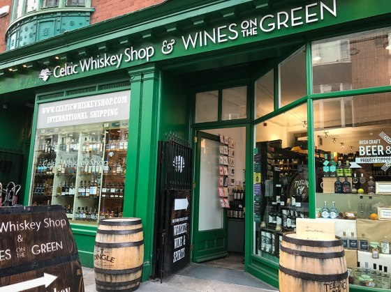 Celtic Whiskey Shop, Dublin.