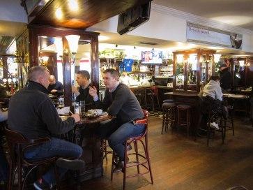Dublin Pub. Photograph, Glenn Kaufman.