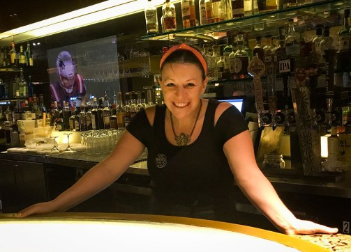 Bar Chef Laura Bellucci at SoBou restaurant in New Orleans